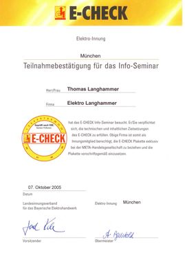 ETGA Facility Solution GmbH & Co.KG München E-Check