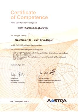 ETGA Facility Solution GmbH & Co.KG München Certificate